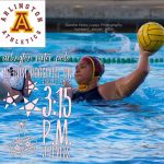 Arlington Girls Water Polo: Roosevelt wins 13-9, on Tuesday, 12/19.