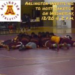 Arlington Wrestling downed by Lakeside on Wednesday, 12/20.