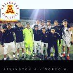 Arlington Boys Soccer blanks Norco, 4-0, on Wednesday, 12/20.