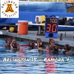 Arlington Girls Water Polo defeats Ramona, 15-4, on Thursday, 12/21.