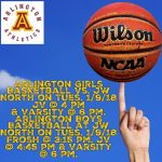 Arlington takes on J.W. North in Basketball on Tuesday, 1/9/2018.