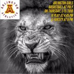 Arlington Girls Basketball travels to Poly, on Thursday, 1/11/2018.