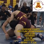 Arlington Wrestling hosts Day 2 of the Riverside County Championships, on Saturday, 1/6, 2018.