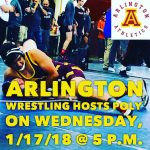 Poly pins Arlington on Wed. 1/18/18.