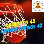 Arlington Boys Basketball defeated Canyon Springs, 45-42, on Thursday, 1/18/2018.