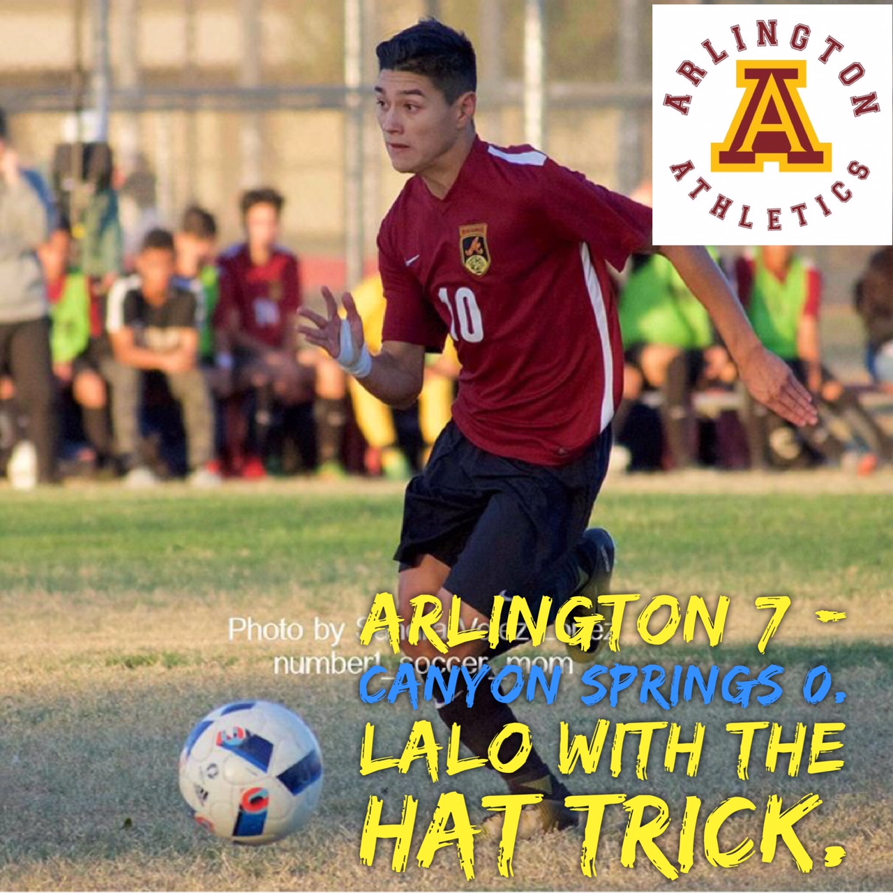 Arlington Boys Soccer beat Canyon Springs, 7-0, on Thursday, 1/18/2018.