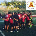 Arlington Boys Soccer 1-0 over Polytechnic on Tuesday, 1/30/2018.