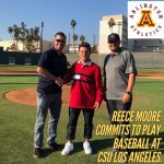 Arlington's Reece Moore commits to play baseball at Cal State Los Angeles.