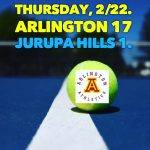 Arlington Boys Tennis 17-1 over Jurupa Hills on Thursday, 2/22/2018.