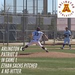 Arlington Baseball takes two from Patriot in a doubleheader on Saturday, 2/24/2018.
