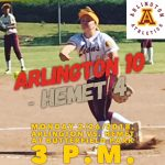 Arlington Softball 10 – Hemet 4 on Monday, 2/26/2018.