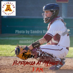 Arlington Baseball hosts Esperanza on Friday, 3/9/2018, at 3 p.m.