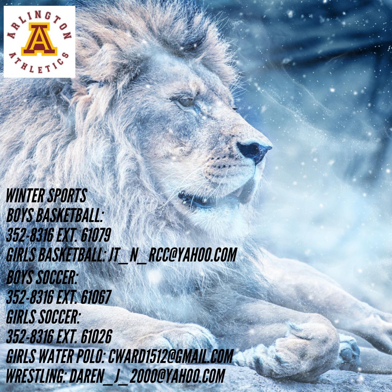 Arlington Winter Sports – Summer Contact Information.