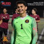 Thursday, 1/17: Arlington Boys' Soccer vs. Temescal Canyon J.V. @ 3:15 p.m. Varsity @ 5 p.m.
