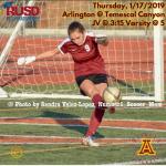 Thursday, 1/17: Arlington Girls' Soccer at Temescal Canyon.