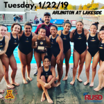 Tuesday, 1/22/2019: Arlington Girls' Water Polo at Lakeside