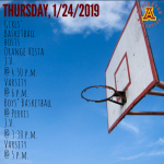 Thursday, 1/24/2019: Arlington Basketball Update