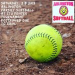 Saturday, 2/9/2019: Arlington Softball Update