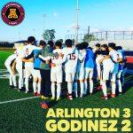 CiF Division II Semi Final Game: Arlington Boys' Soccer wins 3-2 over Godinez H.S. on Saturday, 2/16.