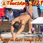 Thursday, 3/21: Arlington Swimming hosts Orange Vista.