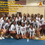 Wednesday, 4/17: Arlington Cheer at Temescal Canyon @ 5 p.m. and vs. Heritage @ 6 p.m.