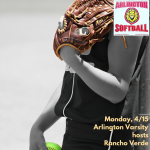 Monday, 4/15/2019: Arlington Softball Update
