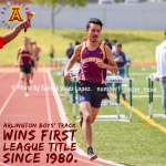 Arlington Boys' Track and Field wins a share of the 2019 Inland Valley League Championship on Tuesday, 4/16/2019.