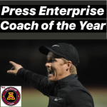 Arlington's Kevin Watson named Press Enterprise Soccer Coach of the year for 2019.