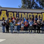 Arlington students participate in National Signing Day.