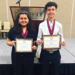 Riverside Sports' Hall of Fame – Outstanding Senior Athletes of the Year: Anahi Garcia and Erik Leos