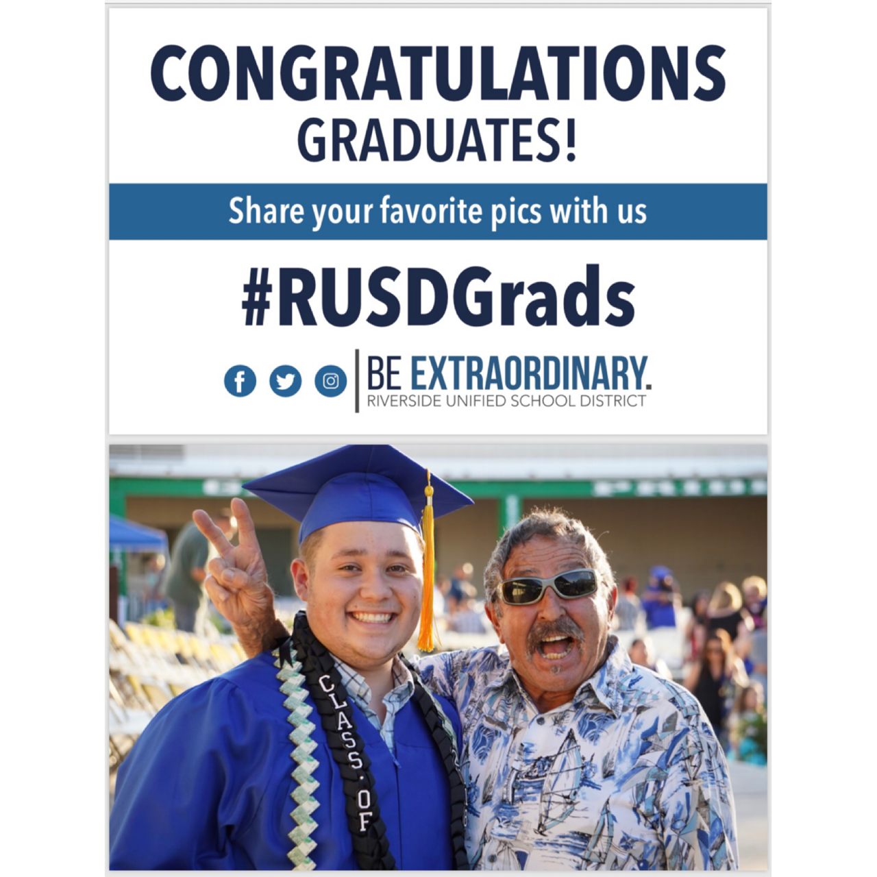 Arlington Class of 2019 Commencement is Wednesday, 5/29 at 6 p.m. at Ramona H.S.