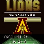 Football takes on Valley View
