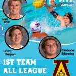 Boys Water Polo: MVP selection and three all league players