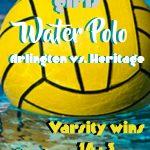 Girls Water Polo beat Heritage 16 – 3