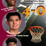 1st Inaugural Thanksgiving Tournament – Boys Basketball