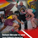 Riverside County Wrestling Tournament – Arlington places 7th  with 4 top 8 individuals