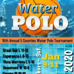 16th Annual 5 Counties Water Polo Tournament – Lady Lions finish in the top 12