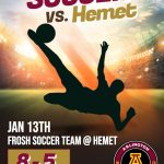 Girls and boys soccer travel to Hemet