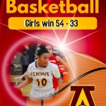 Girls Basketball beat Perris 54 – 33