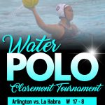 Girls Water Polo compete in Claremont Tournament