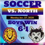 Lions take on the Huskies – Frosh Soccer Wins