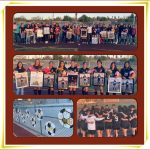 Last home game for Girls Soccer – Valley View- Senior Night