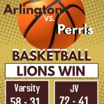 Boys Basketball beat Perris