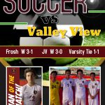 Boys Soccer secure League Championship with a 1-1 tie vs. Valley View