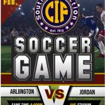 Arlington will host first round CIF Boys Soccer game vs. Jordan