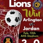 Boys Soccer defeat Jordan and move on to play Warren in the second round