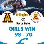 Girls Swim team win big over Notre Vista