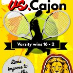 Boys Tennis defeat Cajon