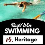 Boys Swim triumphs over Heritage
