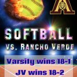 10 runs in the 4th inning secure win over Rancho Verde